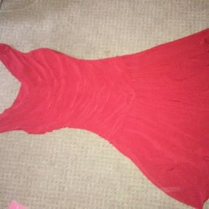 Dress Barn red dress